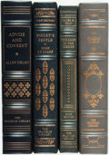 Books:Fine Bindings & Library Sets, [Allen Drury, John Le Carré, Graham Greene, James M. Cain]. Group of Four Franklin Library Books. Various dates. James Cain ... (Total: 4 Items)