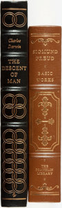 Books:Fine Bindings & Library Sets, [Charles Darwin, Sigmund Freud]. Pair of Franklin Library/EastonPress Books. Various dates. Publisher's full leather with g...(Total: 2 Items)