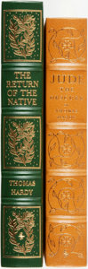 Books:Fine Bindings & Library Sets, Thomas Hardy. Pair of Easton Press Books. Various dates. Publisher's leather with gilt titles and decoration. Fine.... (Total: 2 Items)