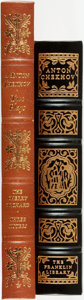 Books:Fine Bindings & Library Sets, Anton Chekhov. Pair of Franklin Library/Easton Press Books. Various dates. Publisher's full leather with gilt titles and dec... (Total: 2 Items)