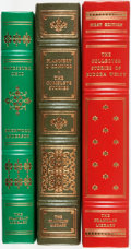 Books:Fine Bindings & Library Sets, [Flannery O'Connor, Eudora Welty, Sherwood Anderson]. Group of Three Franklin Library Books. Various dates. Eudora Welty boo... (Total: 3 Items)