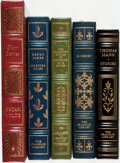 Books:Fine Bindings & Library Sets, [Oscar Wilde, Henry James, Anne Porter, O. Henry, Thomas Mann]. Group of Five Franklin Library Books. Various dates. Publish... (Total: 5 Items)