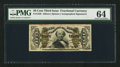Fractional Currency:Third Issue, Fr. 1329 50¢ Third Issue Spinner PMG Choice Uncirculated 64.. ...