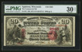 National Bank Notes:Wisconsin, Appleton, WI - $20 1875 Fr. 435 The Commercial NB Ch. # 2565. ...