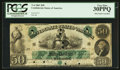 Confederate Notes:1861 Issues, T6 $50 1861 PF-1 Cr. 6 HPC.. ...