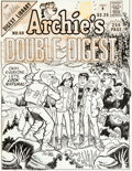 Original Comic Art:Covers, Stan Goldberg Archie's Double Digest #50 Cover Original Art(Archie Comics, 1990)....