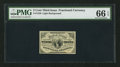Fractional Currency:Third Issue, Fr. 1226 3¢ Third Issue PMG Gem Uncirculated 66 EPQ.. ...