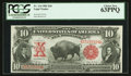 Large Size:Legal Tender Notes, Fr. 114 $10 1901 Legal Tender PCGS Choice New 63PPQ.. ...