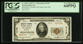 National Bank Notes:Missouri, Saint Louis, MO - $20 1929 Ty. 2 Mercantile-Commerce NB Ch. # 4178....