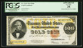 Large Size:Gold Certificates, Fr. 1215 $100 1922 Gold Certificate PCGS Apparent Very Fine 25.....