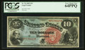 Large Size:Legal Tender Notes, Fr. 96 $10 1869 Legal Tender PCGS Very Choice New 64PPQ.. ...