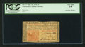 Colonial Notes:New Jersey, New Jersey March 25, 1776 3s PCGS Very Fine 25.. ...