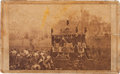 Photography:CDVs, Abraham Lincoln: CDV of Columbus Funeral. ...