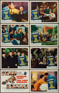 "Movie Posters:Drama, The Last Hurrah (Columbia, 1958). Lobby Card Set of 8 (11"" X 14"").Drama.. ... (Total: 8 Items)"