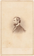 Photography:CDVs, Abraham Lincoln: Mathew Brady From-Life Carte-de-Visite. ...