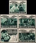 """Movie Posters:Comedy, Bringing Up Baby (RKO, R-1941). Title Lobby Card & Lobby Cards(4) (11"""" X 14""""). Comedy.. ... (Total: 5 Items)"""
