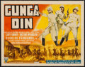 "Movie Posters:Action, Gunga Din (RKO, 1939). Title Lobby Card (11"" X 14""). Action.. ..."
