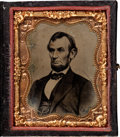Photography:Tintypes, Abraham Lincoln: Ninth Plate Tintype. ...