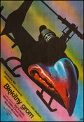 """Movie Posters:Action, Blue Thunder (Polfilm, 1984). Polish One Sheet (26.25"""" X 38.25). Action.. ..."""