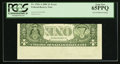 Error Notes:Inverted Reverses, Fr. 1926-A $1 2001 Federal Reserve Note. PCGS Gem New 65PPQ.. ...