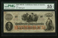 "Confederate Notes:1862 Issues, Manuscript Endorsement ""James G. Paxton"" T41 $100 1862 PF-12 Cr.317A.. ..."