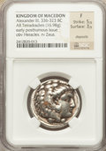 Ancients:Greek, Ancients: MACEDONIAN KINGDOM. Alexander III the Great (336-323 BC).AR tetradrachm (16.98 gm)....