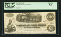 "Confederate Notes:1862 Issues, Manuscript Endorsement ""Rich(ard) M(atthaei) Culyer"" T40 $100 1862PF-1 Cr. 298.. ..."