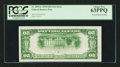 Error Notes:Inverted Reverses, Fr. 2054-G $20 1934 Light Green Seal Federal Reserve Note. PCGSChoice New 63PPQ.. ...