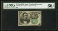 Fractional Currency:Fifth Issue, Fr. 1264 10¢ Fifth Issue PMG Gem Uncirculated 66 EPQ.. ...