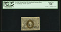 """Fractional Currency:Second Issue, Fr. 1286 25¢ Second Issue Inverted """"S"""" PCGS About New 50.. ..."""