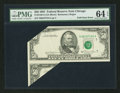 Error Notes:Foldovers, Fr. 2120-G $50 1981 Federal Reserve Note. PMG Choice Uncirculated64 EPQ.. ...