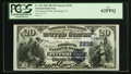 National Bank Notes:Pennsylvania, Pittsburgh, PA - $20 1882 Date Back Fr. 552 The Diamond NB Ch. #(E)2236. ...