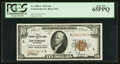 Small Size:Federal Reserve Bank Notes, Fr. 1860-L $10 1929 Federal Reserve Bank Note. PCGS Gem New 65PPQ.. ...