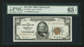 Small Size:Federal Reserve Bank Notes, Fr. 1880-I $50 1929 Federal Reserve Bank Note. PMG Gem Uncirculated 65 EPQ.. ...