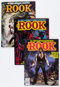 Modern Age (1980-Present):Science Fiction, The Rook Group (Warren, 1979-82) Condition: Average VF.... (Total:10 Comic Books)