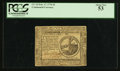 Colonial Notes:Continental Congress Issues, Continental Currency February 17, 1776 $2 PCGS About New 53.. ...