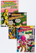 Silver Age (1956-1969):Science Fiction, Strange Adventures Group (DC, 1957-72) Condition: Average VG.... (Total: 11 Comic Books)