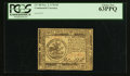 Colonial Notes:Continental Congress Issues, Continental Currency November 2, 1776 $5 PCGS Choice New 63PPQ.....