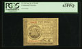 Colonial Notes:Continental Congress Issues, Continental Currency September 26, 1778 $50 PCGS Choice New 63PPQ.. ...