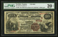 National Bank Notes:Virginia, Norfolk, VA - $10 1882 Brown Back Fr. 490 The NB of Commerce Ch. #(S)6032. ...