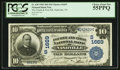 National Bank Notes:Tennessee, Nashville, TN - $10 1902 Date Back Fr. 620 The Fourth & FirstNB Ch. # (S)1669. ...