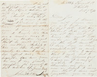 John Wilkes Booth: Autographed Letter Signed