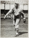 Baseball Collectibles:Photos, 1913-15 Christy Mathewson Photograph by Charles Conlon, PSA/DNAType 1....