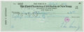 Autographs:Checks, 1959 President John F. Kennedy Signed Check.. ...