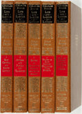 Books:Business & Economics, Charles Booth. Life and Labour of the People in London,Vols. I-V. From Reprints of Economic Class... (Total: 5Items)