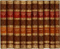 Books:Literature Pre-1900, [Laurence Sterne]. The Works of Laurence Sterne. In Ten Volumes Complete. London: J. Dodsley, et al, 1793. Contempor... (Total: 10 Items)