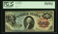 Large Size:Legal Tender Notes, Fr. 18 $1 1869 Legal Tender PCGS Choice About New 55PPQ.. ...