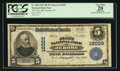 National Bank Notes:Pennsylvania, Jerome, PA - $5 1902 Plain Back Fr. 608 The First NB Ch. # 12029. ...