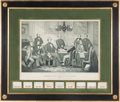 Autographs:U.S. Presidents, Jefferson Davis and His Cabinet: Impressive Print and Autograph Display. ...