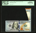 Error Notes:Miscellaneous Errors, Fr. 2187-A* $100 2009A Federal Reserve Note. PCGS Gem New 65PPQ.. ...